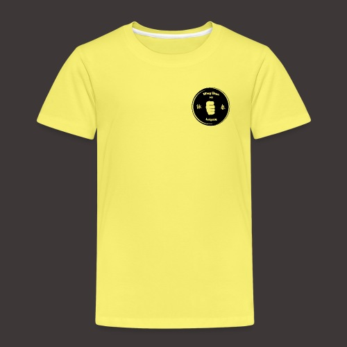 Logo schwarz transparent - Kinder Premium T-Shirt