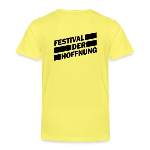 schwarz png - Kinder Premium T-Shirt