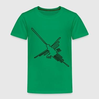 nazca hummingbird spur - Kinder Premium T-Shirt