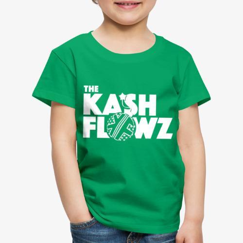 The Kash Flowz Official Bomb White - T-shirt Premium Enfant