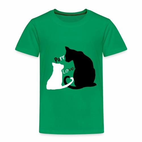 purr love - Kinder Premium T-Shirt