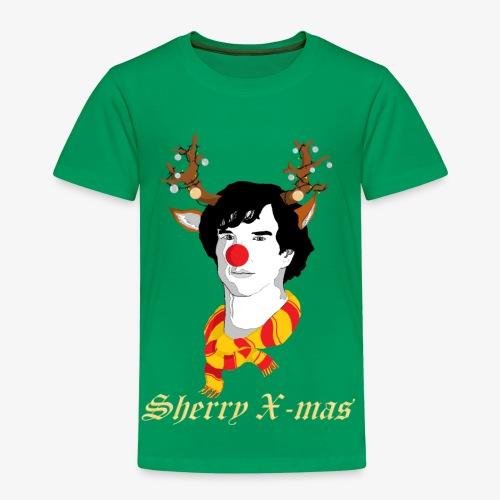 Sherlock Holmes reindeer editie - Kinderen Premium T-shirt