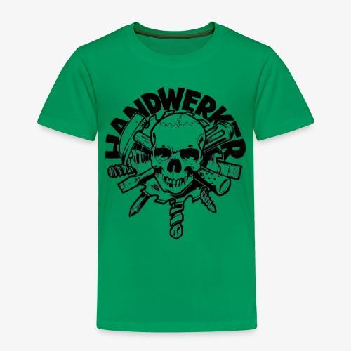 Handwerker Skull'n'Tools - Kinder Premium T-Shirt