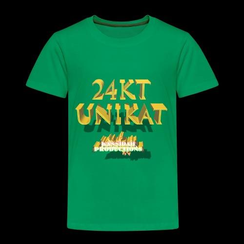 24kt Unikat Kansidah Design - Kinder Premium T-Shirt