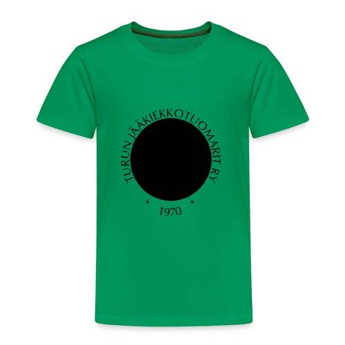 Tujen kiekkologo - Lasten premium t-paita