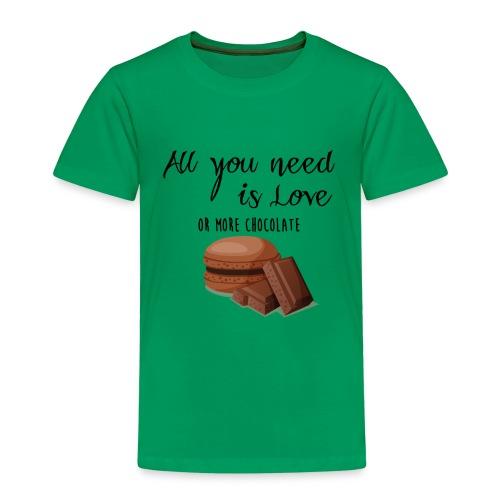 Tout le monde a besoin de chocolat - T-shirt Premium Enfant