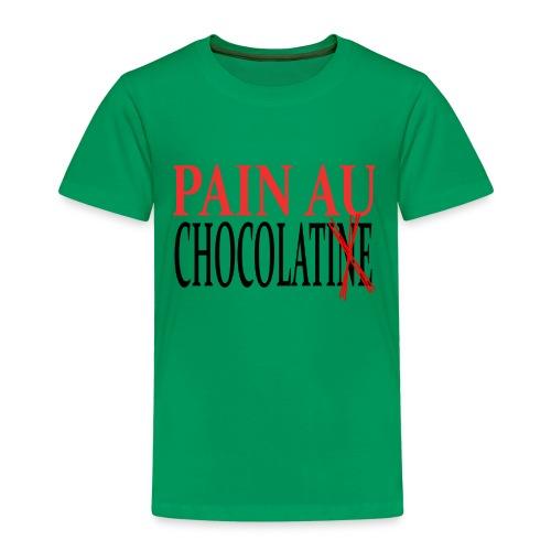 Pain au chocolat ou Chocolatine ? - T-shirt Premium Enfant
