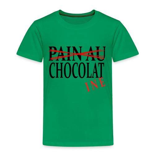 Pain au chocolat? Non, chocolatine - T-shirt Premium Enfant