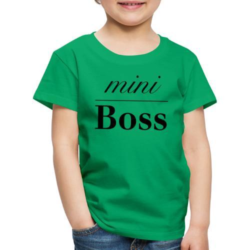 Baby Boss - Børne premium T-shirt