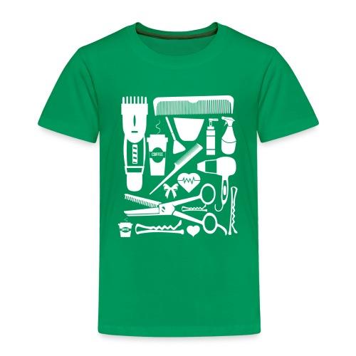 Friseur Frisör Hairstylist Haare Friseurmeister - Kinder Premium T-Shirt