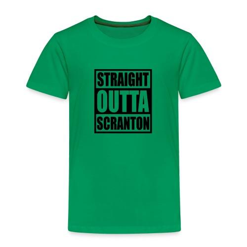 Straight Outta Scranton - Kids' Premium T-Shirt