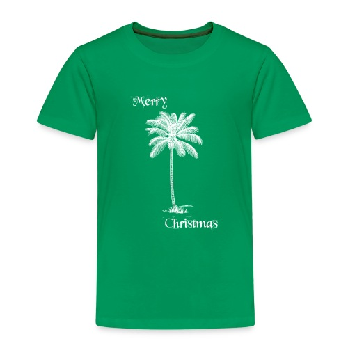 Merry Christmas Palme - Kinder Premium T-Shirt