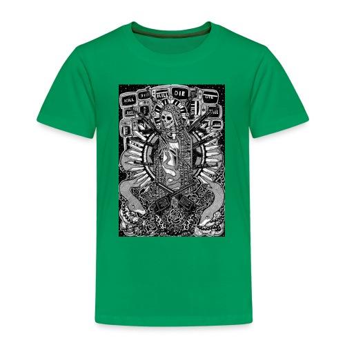 Santa Muerte - Premium-T-shirt barn