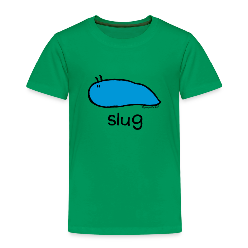 'slug' - Bang on the door - Kids' Premium T-Shirt