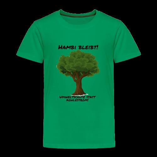 Hambi bleibt! - Kinder Premium T-Shirt