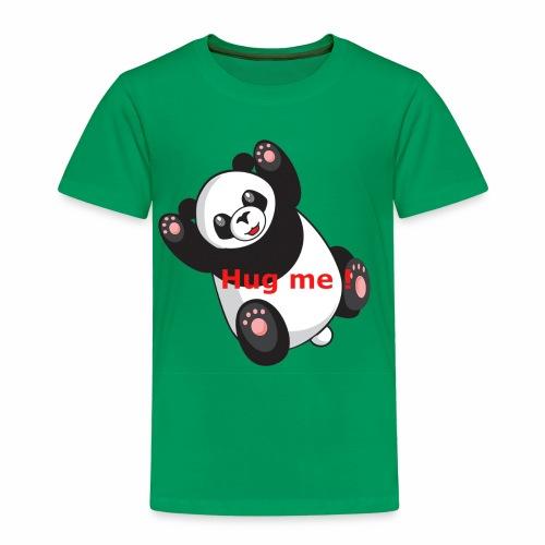 Panda Hug me - Kinder Premium T-Shirt