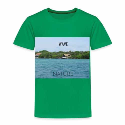 NATURE WAVE - Camiseta premium niño
