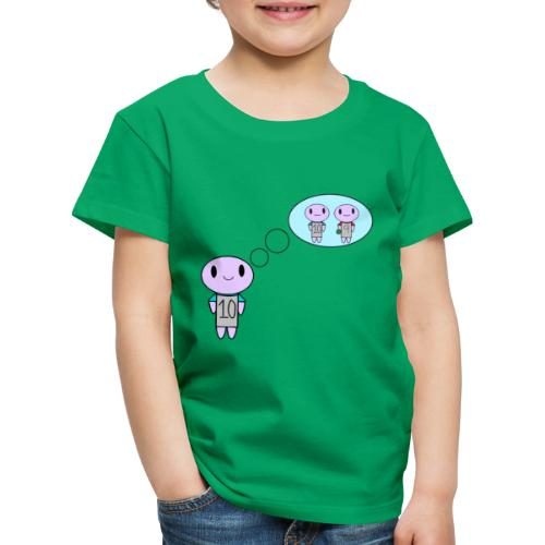 thinking ten on a t-shirt - Kids' Premium T-Shirt