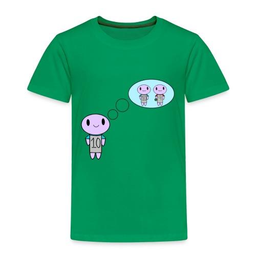 thinking ten on a t-shirt - Kids' Premium T-Shirt