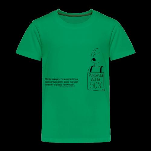 Aforismi maailmanloppu - Lasten premium t-paita