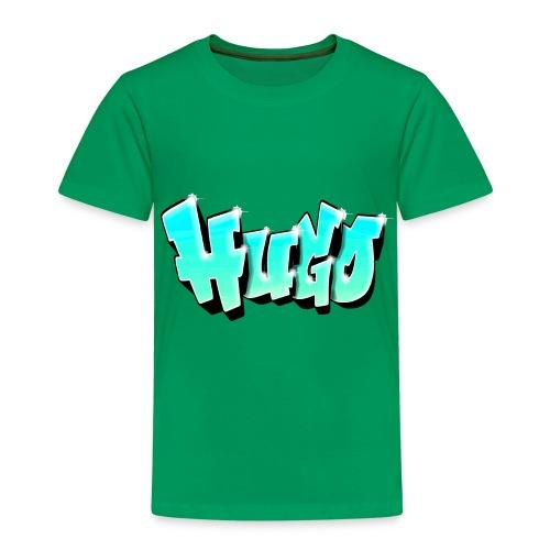 Graffiti Name Hugo Bleu - Kids' Premium T-Shirt