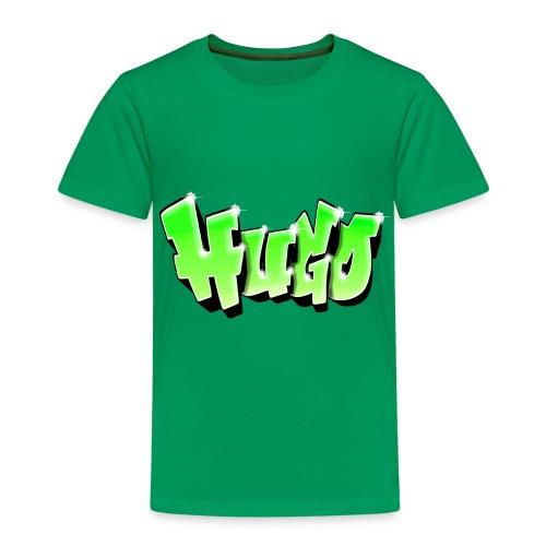 Graffiti Prénom Hugo Green - Kids' Premium T-Shirt