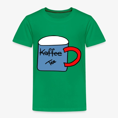 Kein Kaffee, sondern Tee - Kinder Premium T-Shirt