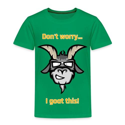 I goat this! Orange - Kinderen Premium T-shirt