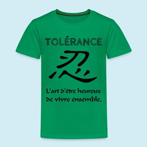 Tolérance - T-shirt Premium Enfant