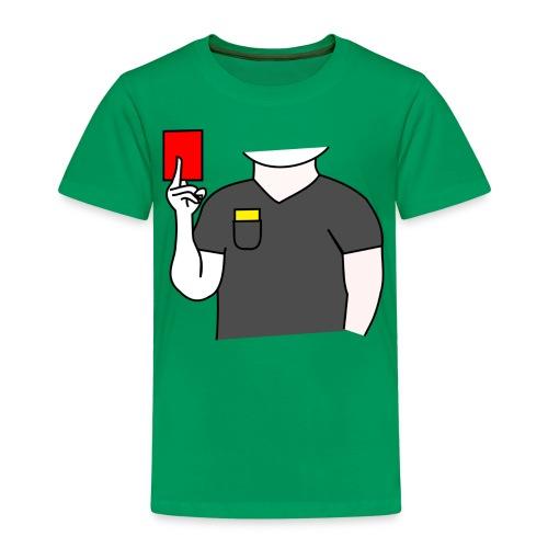 Schiedsrichter Fußball - Kinder Premium T-Shirt