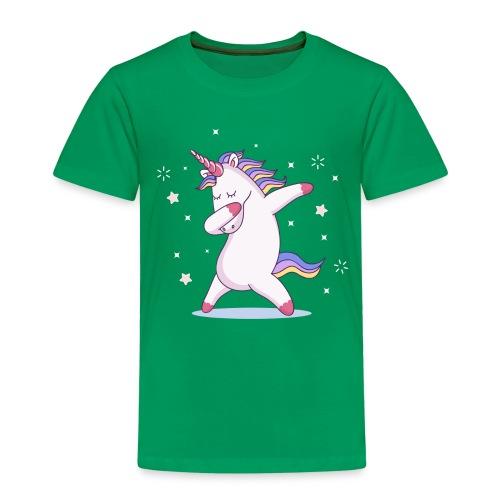 kids unicorn dab - Kinder Premium T-Shirt