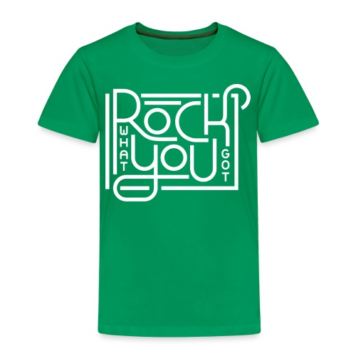 Rock what you got - Kinderen Premium T-shirt
