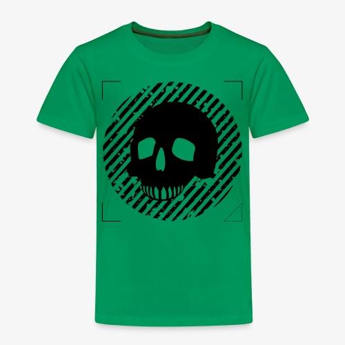 CALAVERA EN CIRCULO - Camiseta premium niño