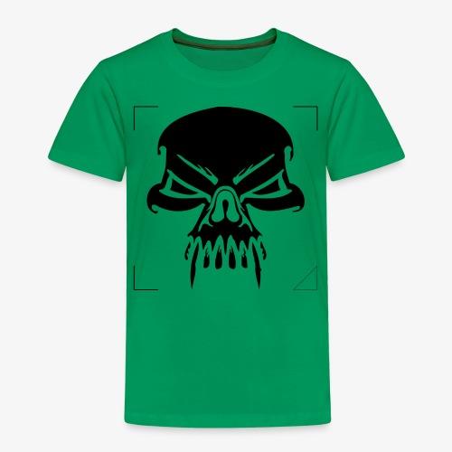 CALAVERA CON COLMILLOS - Camiseta premium niño