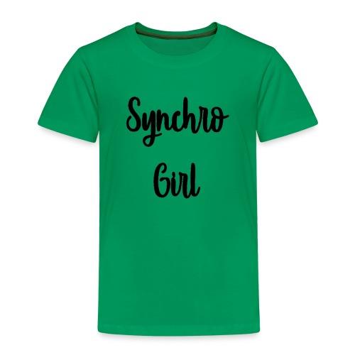 Synchro Girl - Lasten premium t-paita