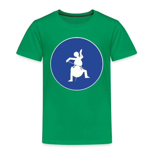 Znak playcelloobw - Koszulka dziecięca Premium