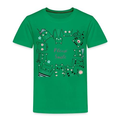 Bitte lächeln - Kinder Premium T-Shirt
