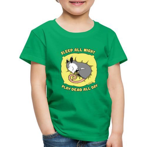 Vita da Opossum giallo - Maglietta Premium per bambini