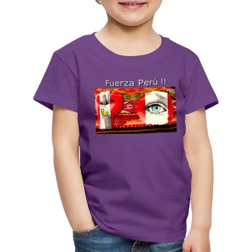 Telar Fuerza Peru I - Kids' Premium T-Shirt