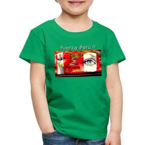 Telar Fuerza Peru I. - Kinder Premium T-Shirt