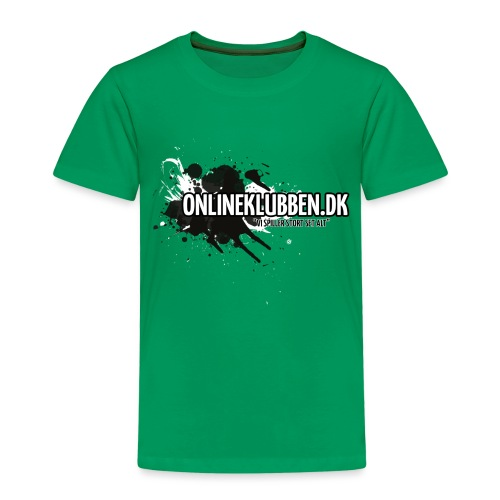 SPLASH OK png - Børne premium T-shirt