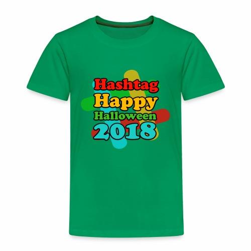 hashtag happy halloween 2018 - T-shirt Premium Enfant