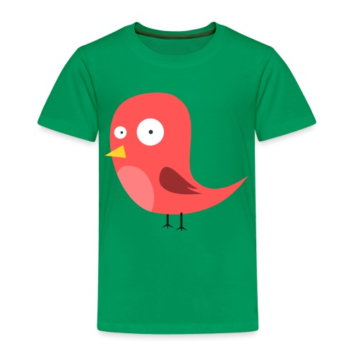 bunter freaky vogel - Kinder Premium T-Shirt