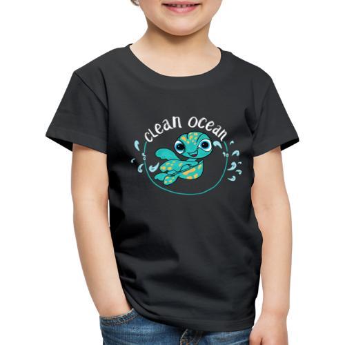 Clean Ocean - Kids' Premium T-Shirt