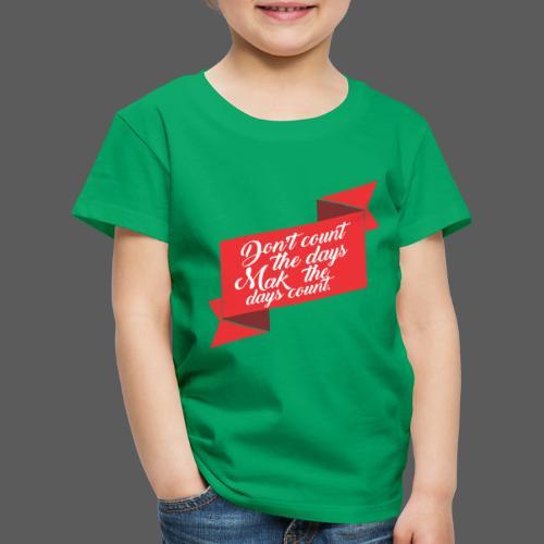 Dias - Camiseta premium niño