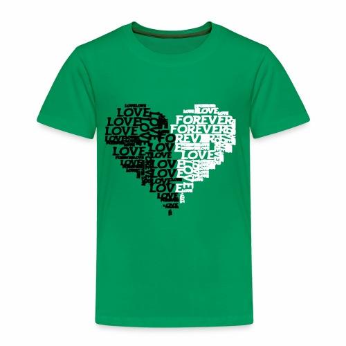 Valentiensdayliebe Liebe - Kinder Premium T-Shirt