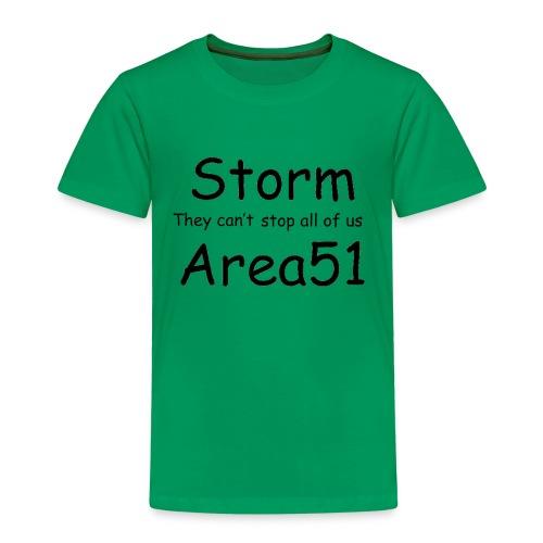 Storm Area 51 - Kids' Premium T-Shirt