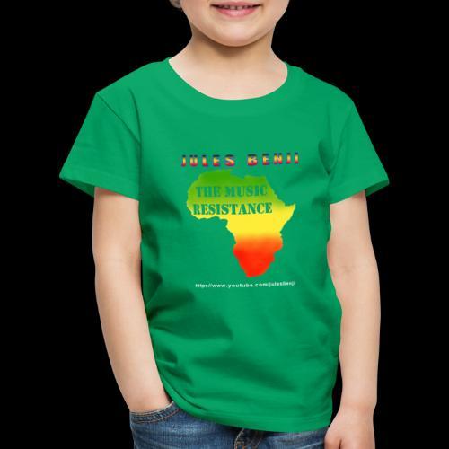 JULES BENJI & MUSIC RESISTANCE africa design - Kids' Premium T-Shirt