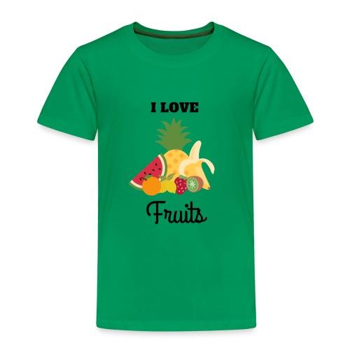 I Love Fruits - T-shirt Premium Enfant