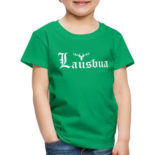 Lausbua mit Hirsch - Kinder Premium T-Shirt